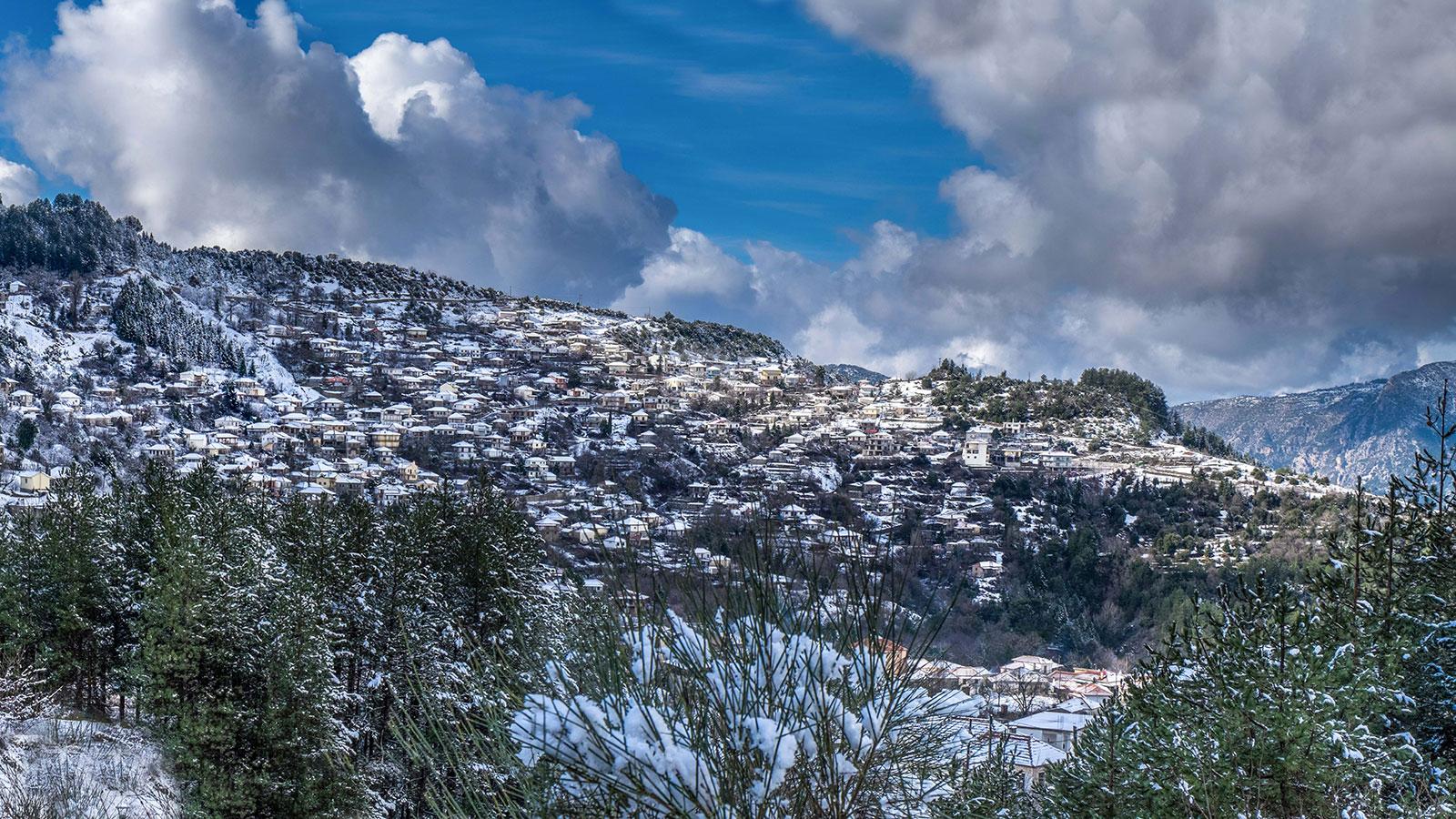 Φυσικό περιβάλλον και ιστορικό τοπίο των Τζουμέρκων